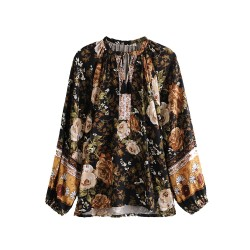 Elma Summer Floral Blouse