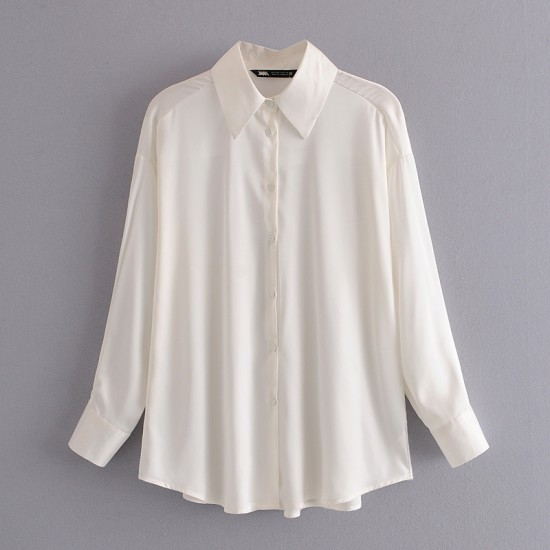 Jennifer Plain Long Sleeve Shirt - Sea Green