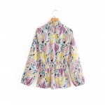Elizabeth French Floral Blouse