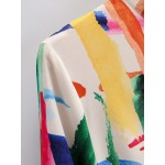 Monica Tie-Dye Retro Dress
