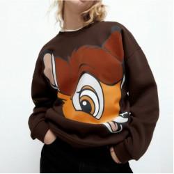 Bambee  Dark Brown Outerwear Sweater