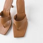 Cinnamon Stilletto Sandals