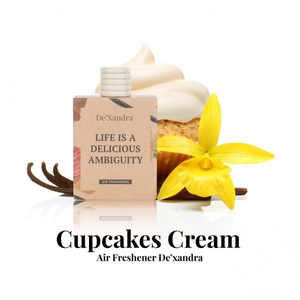 DeXandra Cupcakes Cream Air Freshener - 10ml