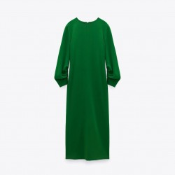 Gwen Emerald Green Long Dress