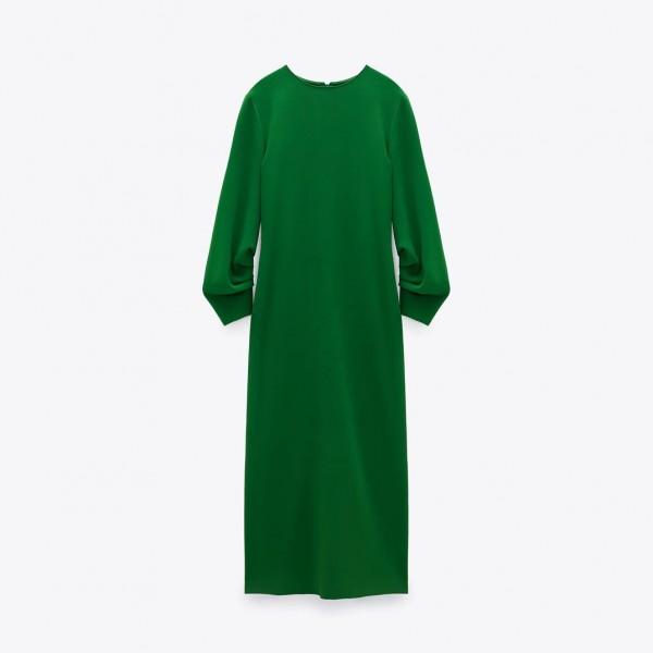 Gwen Emerald Green Long Dress