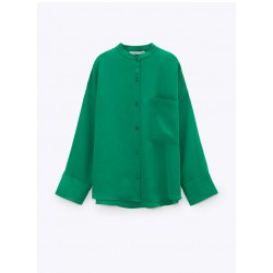 Janice Green Plain Blouse