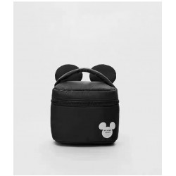 Moxie Cartoon Mickey Black Pouch With Ears