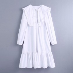 Chantela Plain White Blouse