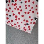 Feeza Heart Shape Printed Poplin Blouse