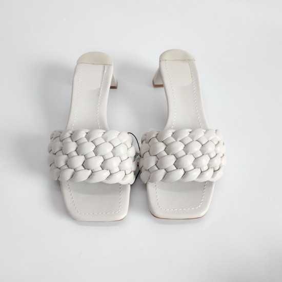 Tropo Twisted Sandals - Snow White