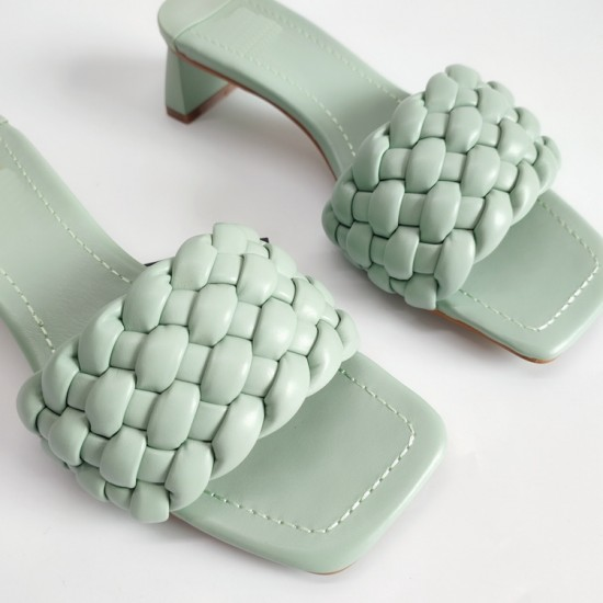 Tropo Twisted Sandals - Mint Green