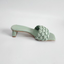 Tropo Twisted Sandals - Mint Green